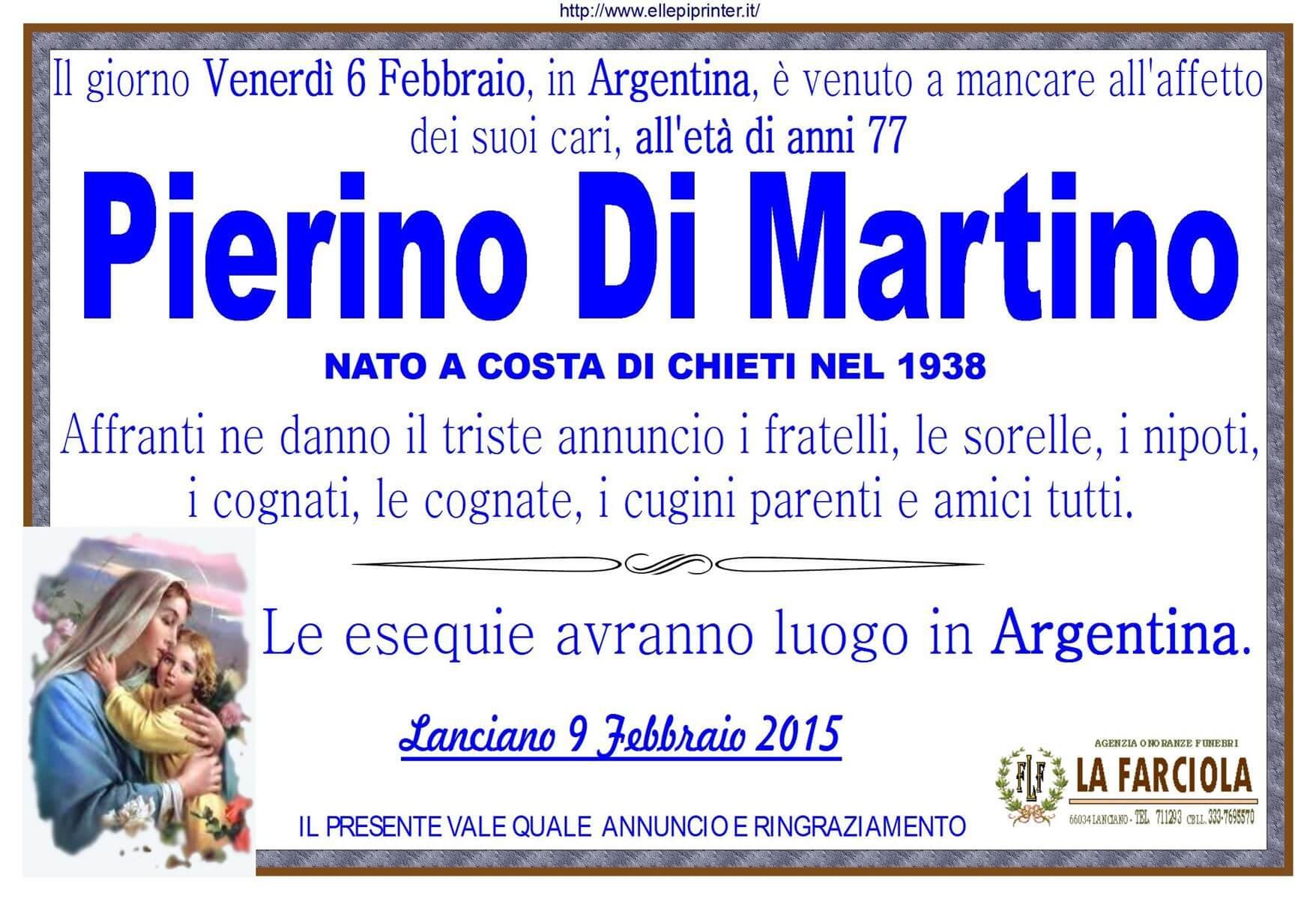 MANIFESTO DI MARTINO