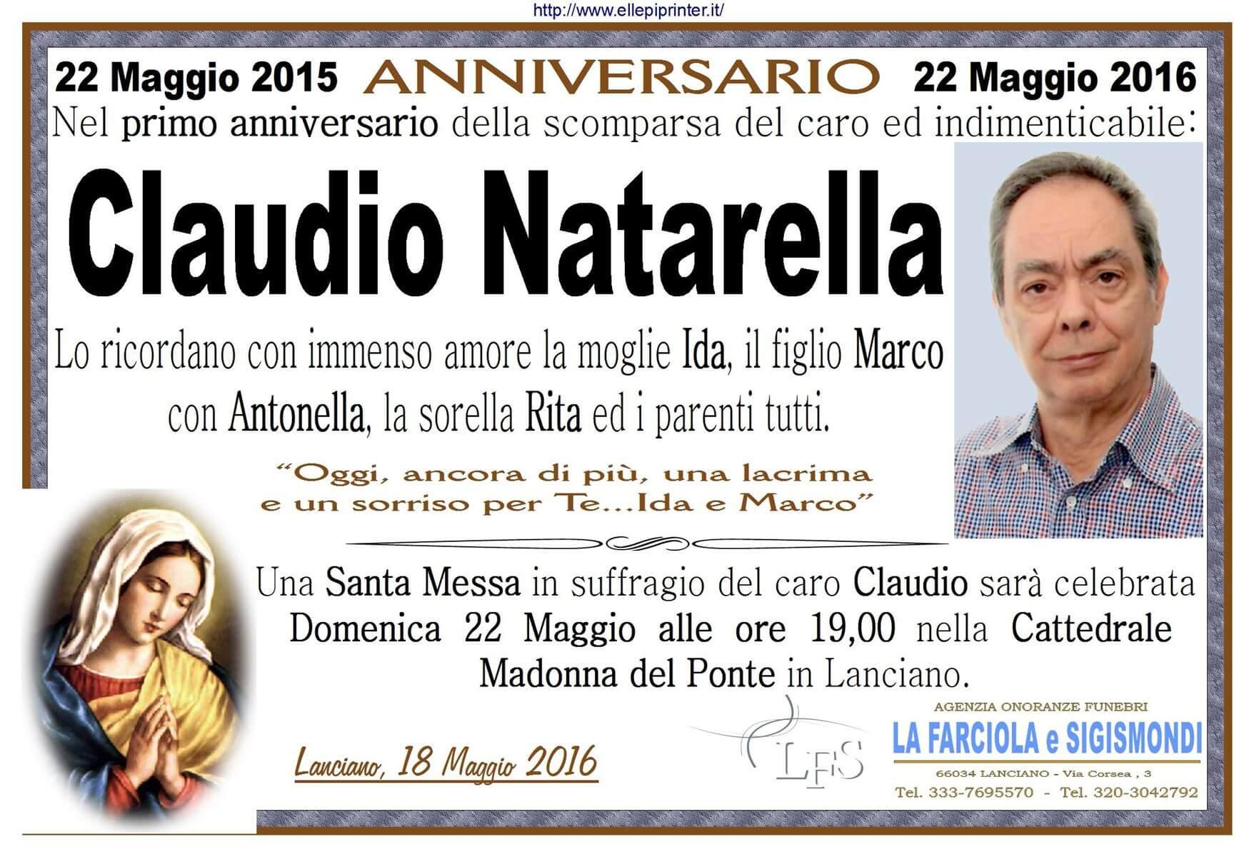 ANNIVERSARIO NATARELLA 2016