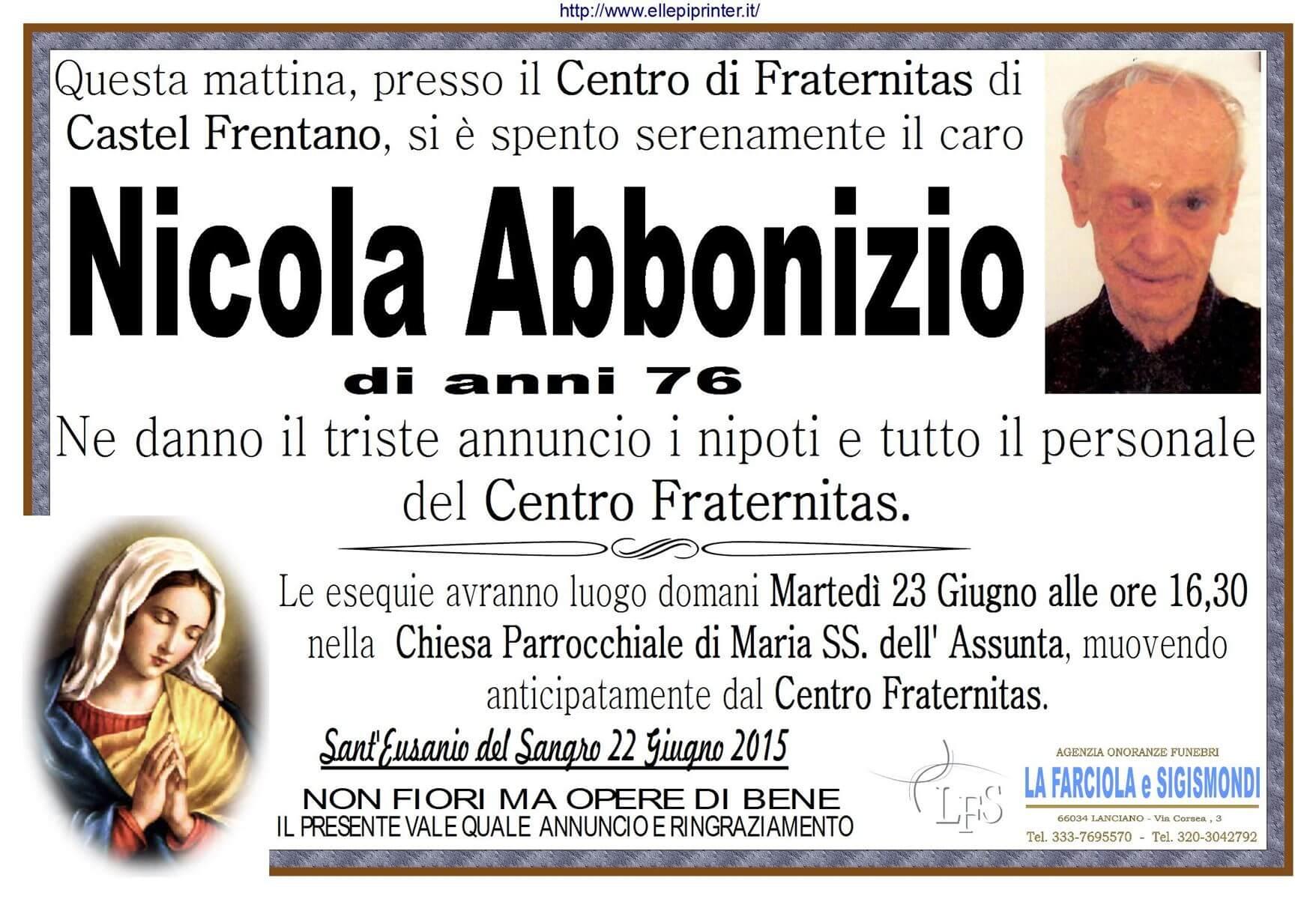MANIFESTO ABBONIZIO