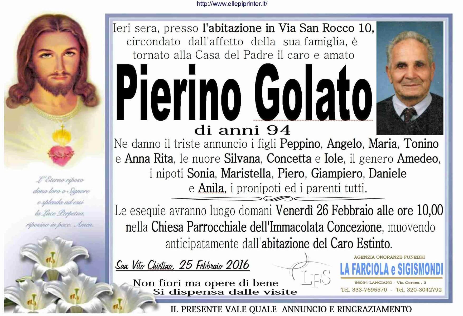 MANIFESTO GOLATO