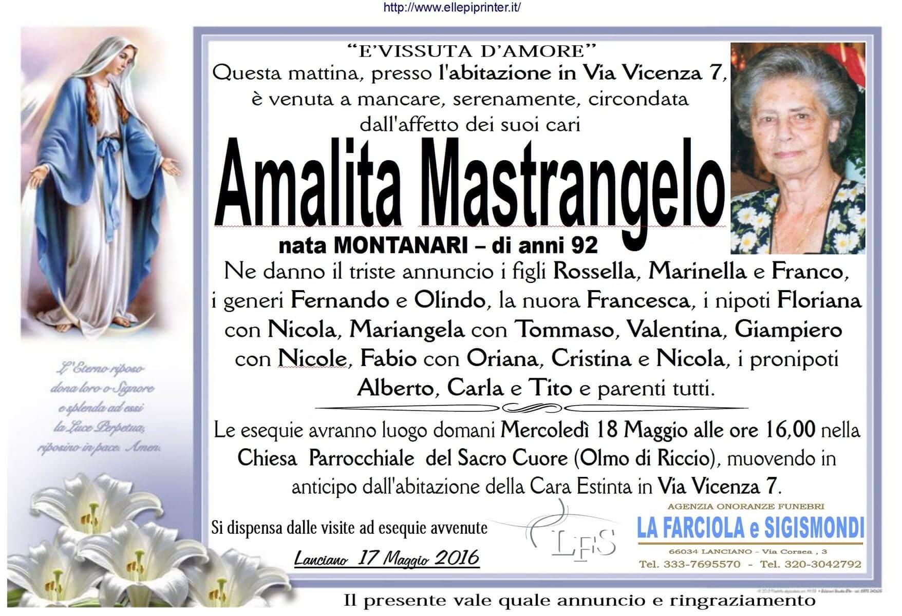 MANIFESTO MASTRANGELO AMALITA
