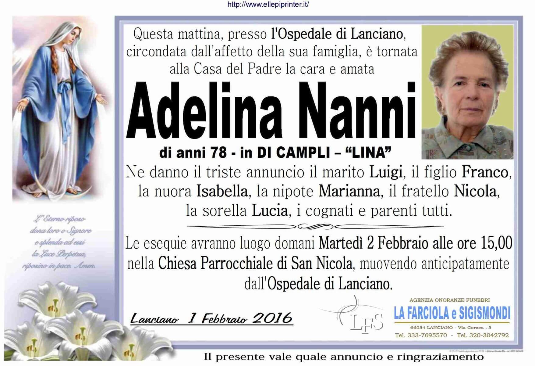 MANIFESTO NANNI ADELINA