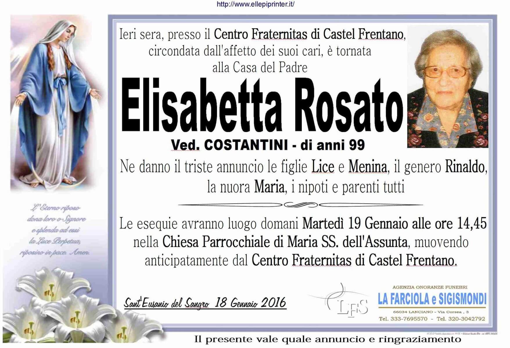 MANIFESTO ROSATO ELISABETTA