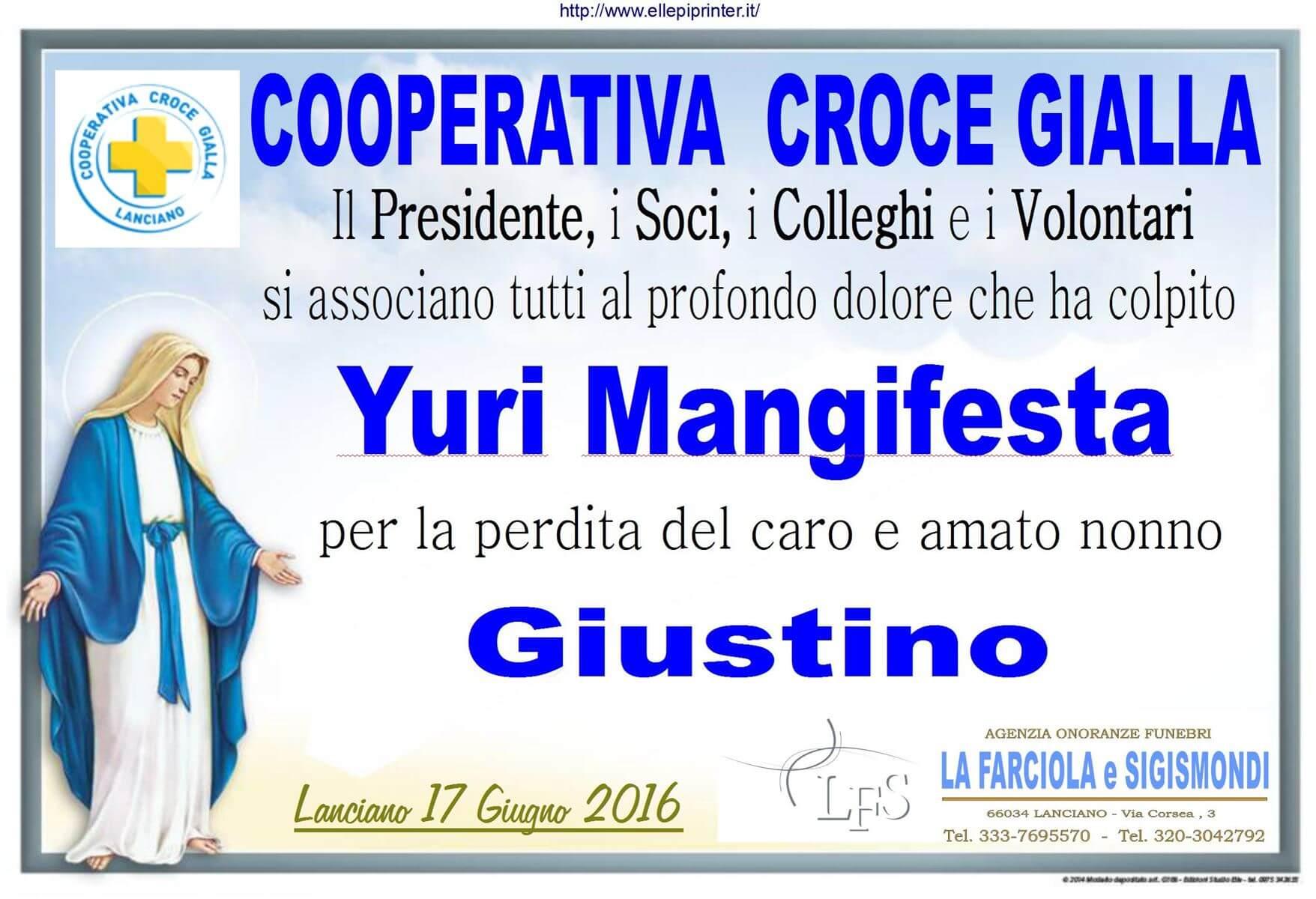 PARTECIPAZIONE CROCE GIALLA 17.6.2016
