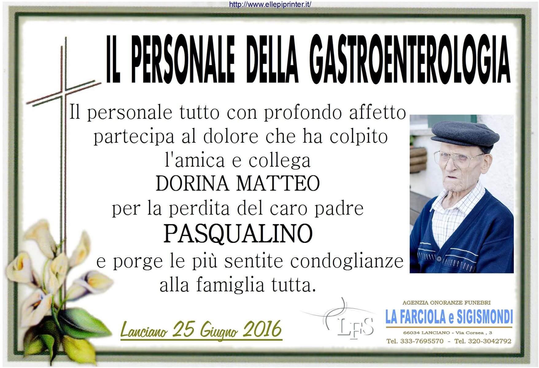 PARTECIPAZIONE X MATTEO GASTROENTEROLOGIA