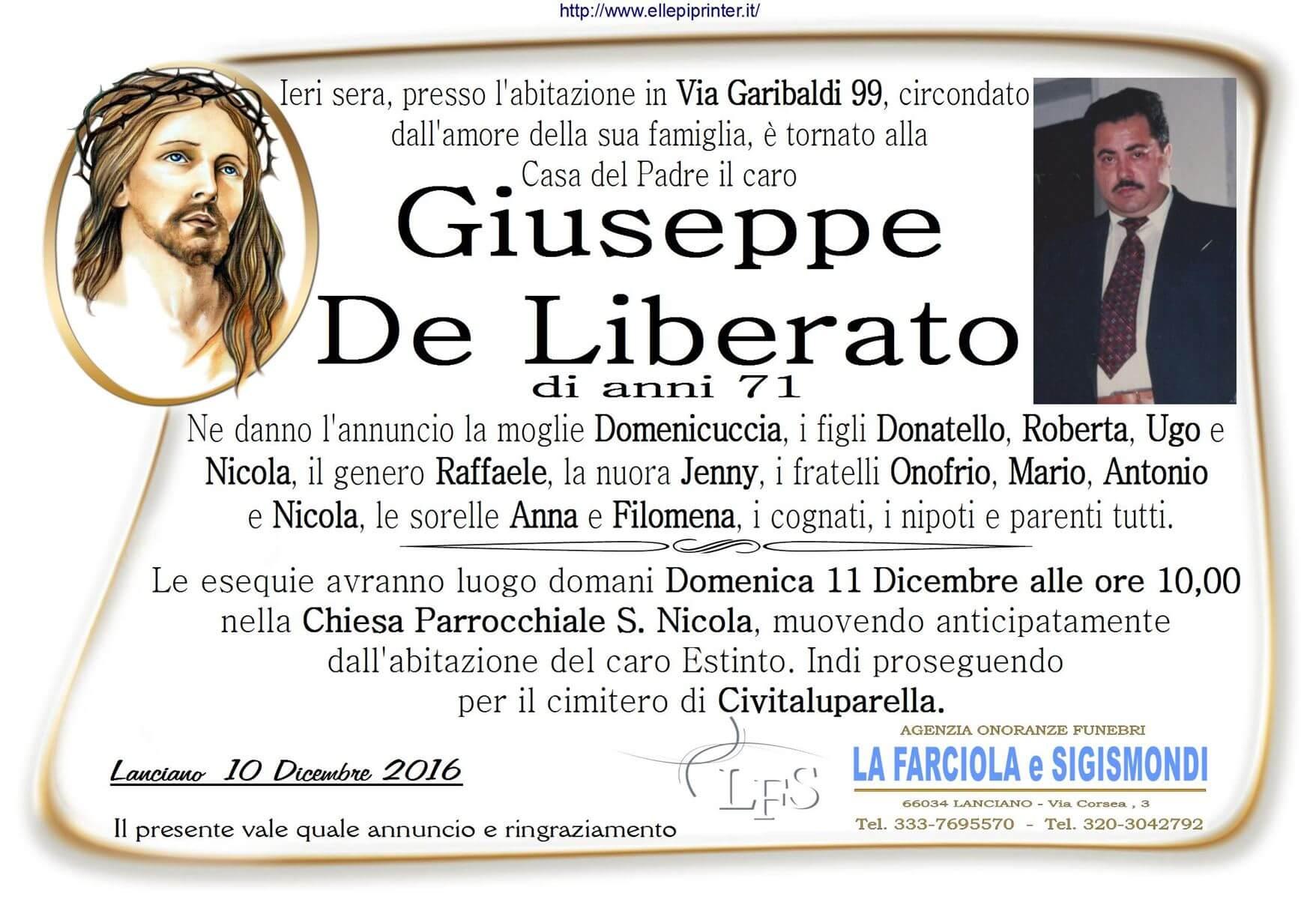 MANIFESTO DE LIBERATO